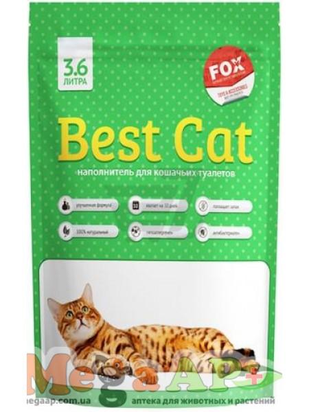 Наполнитель туалетов Best Cat  зеленый 1.35 кг (3.6 л)