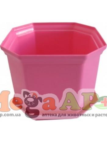 Вазон Дама 20 розовый 4,7л
