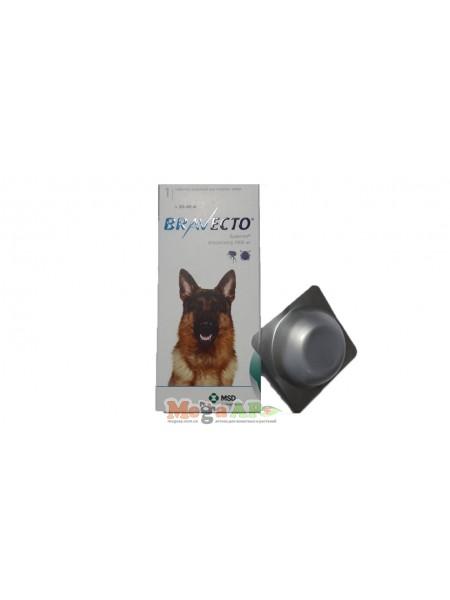 Бравекто таблетки от клещей для собак 20-40 кг