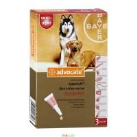 Advocate (Адвокат®) капли для собак весом от 10 до 25 кг