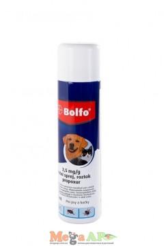Bayer (Байер) BOLFO SPRAY (БОЛЬФО) спрей от блох и клещей для собак и кошек 250 мл
