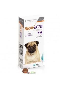 Бравекто для собак 4.5 - 10 к г- Жевательная таблетка от блох и клещей