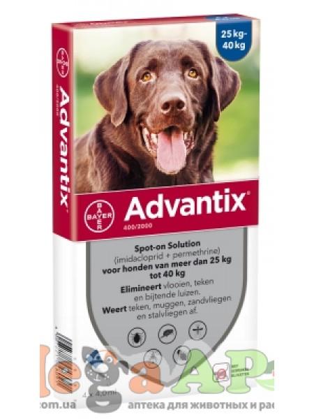 BAYER Advantix для собак вес более 25 кг