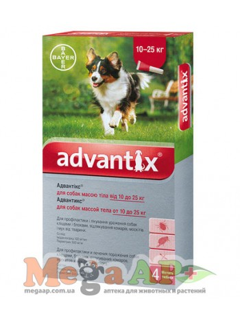 BAYER Advantix вес 10-25 кг