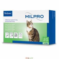 Milpro Милпро 16 мг/40 мг для котов от 2 кг до 8 кг