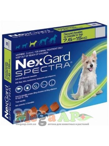 НексГард Спектра 7,5 - 15 кг (NexGard Spectra)