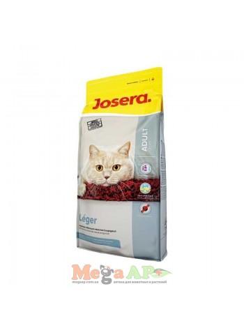 Josera (Йозера) LEGER (ЛЕЖЕР УТКА И ИНДЕЙКА) корм для малоактивных и стерилизованных котов 10кг