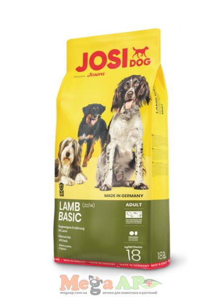 JOSIDOG LAMB BASIC 18 кг