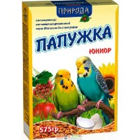 Повседневный корм Природа Папужка Юниор для попугаев  575г