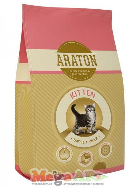 Сухой корм ARATON KITTEN  для котят 1кг