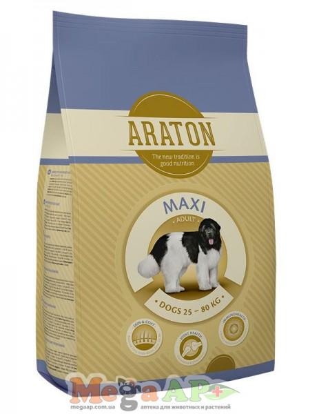 Сухой корм ARATON MAXI ADULT для взрослых собак крупных пород 1кг