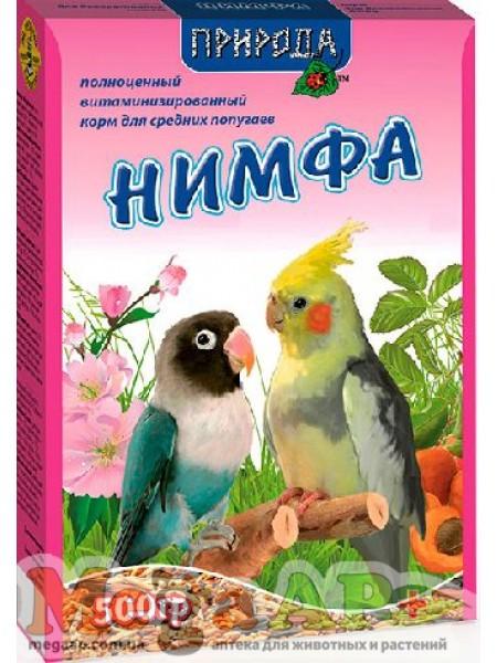 Корм Корелла Йод для средних попугаев Природа 500г