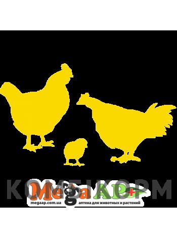 Комбікорм для курчат-бройлерів у віці 1-3 тижні (від 0 до 11 днів) ПК 5 Люкс  1кг