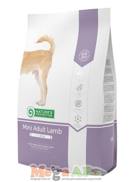 Сухой корм для собак NATURE'S PROTECTION MINI ADULT LAMB 1кг