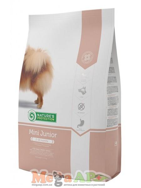Сухой корм для собак NATURE'S PROTECTION MINI JUNIOR 1кг