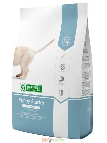 Сухой корм для щенков NATURE'S PROTECTION PUPPY STARTER 1кг