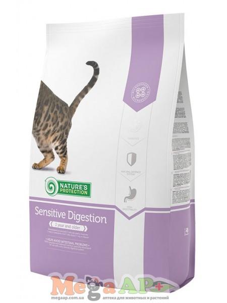 Сухой корм для кошек NATURE'S PROTECTION SENSITIVE DIGESTION 1кг