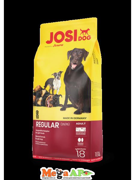 Josera JosiDog Regular корм для собак со средней физической активностью 18 кг