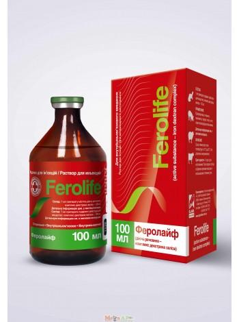 Феролайф для инъекций 100мл- восполняет дефицит железа